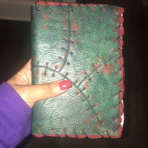 zombie skin moleskin notebook